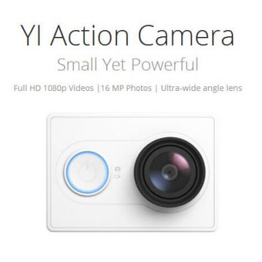 $8 off for Xiaoyi Yi Action Camera US Edition from Geekbuying