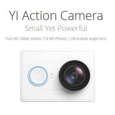 $ 8 av for Xiaoyi Yi Action Camera US Edition fra Geekbuying