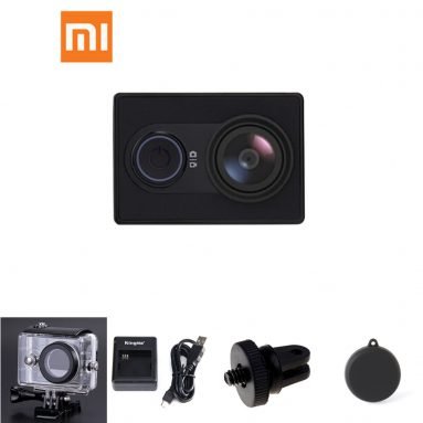 [Official EU Edition] $10 off for Xiaomi Yi Action Camera Bundle from Geekbuying