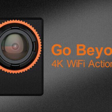 $ 4 av for ThiEYE i60 4K Action kamera fra Geekbuying