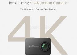 $10 off for Xiaoyi YI 4K + Waterproof Case  from Geekbuying