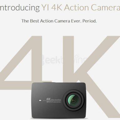 Xiaoyi YI 10K + Geekbuying의 방수 케이스에 $ 4 할인