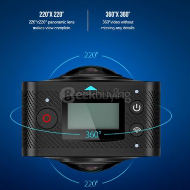 $20 off for Elephone ELECAM 360 Mini VR Camera from Geekbuying