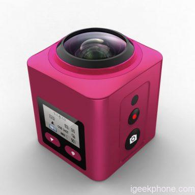 X5 360 ° מצלמה אלחוטית Panaromic פעולה