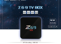 $38.99 COUPON for MOV Z69 4K Smart TV Box Amlogic S905X from GearBest