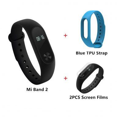 Geekbuying'den Mavi Askılı MI BAND 5 Paketi için $ 2
