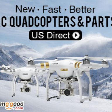 RC Quadcopter & Parts Promotion in US Warehouse from BANGGOOD TECHNOLOGY CO., LIMITED