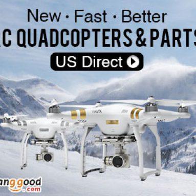 RC Quadcopter & các bộ phận khuyến mãi trong kho của Mỹ từ công ty TNHH công nghệ BANGGOOD