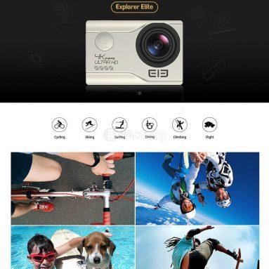 $10 off for Elephone Explorer Elite 4K Camera from Geekbuying