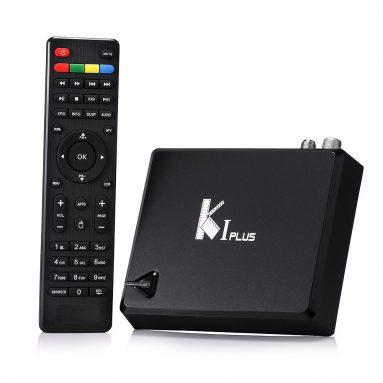 $3 OFF K1 PLUS DVB-T2 TV Box from Geekbuying