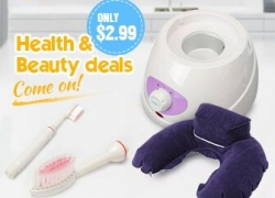 Flash Deals: Health and Beauty stuff start form $2.99! from BANGGOOD TECHNOLOGY CO., LIMITED