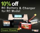 10% OFF Batterie et chargeur RC pour le mode RC de BANGGOOD TECHNOLOGY CO., LIMITED