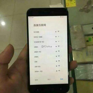 Xiaomi MI5C 더 많은 실제 전화 유출