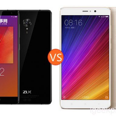 Lenovo ZUK Edge vs Xiaomi MI5S Plus Design, Antutu, Camera, Battery Review