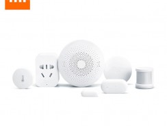 $71 with coupon for Xiaomi mijia 6 in 1 Smart Home Security Kit  –  WHITE from GearBest