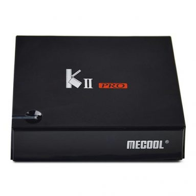 MECOOL KII PRO Hybird STB DVB-T2/S2/C on sale! from Geekbuying INT