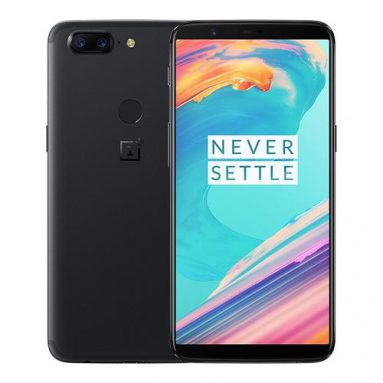 OnePlus 5T 8+128GB Black on sale! from Geekbuying INT
