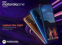 Motorola One Vision sẽ tấn công thị trường Ấn Độ vào tháng 6 20