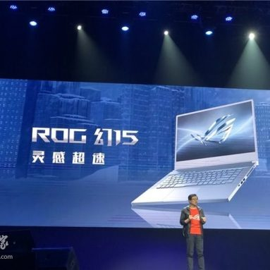 ASUS Launched ROG Fantasy 15 notebook & Swift PG65UQ gaming display
