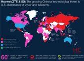 Những quốc gia nào cho phép các công ty viễn thông của họ mua thiết bị 5G của Huawei?