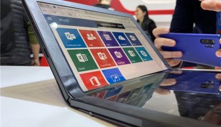 Lenovo ThinkPad X1 Folding Screen Computer Details Shown