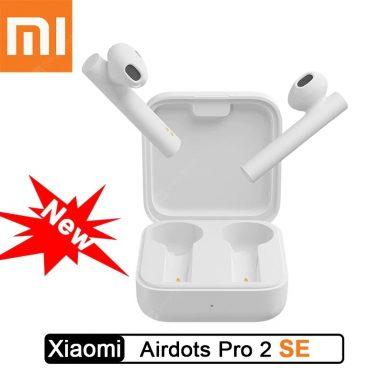 27 $ עם קופון ל- Xiaomi Air2 SE חדש אוזניות Bluetooth אלחוטיות אוזניות סטריאו אלחוטיות אמיתיות קישור סינכרוני 20 שעות מיקרופון המתנה ארוך המתנה - לבן מבית GEARBEST