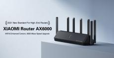 109 євро з купоном на Xiaomi AX6000 AloT Router WiFi 6 Router 6000Mbps 7 * Antennas Mesh Networking 4K QAM 512MB MU-MIMO Wireless WIFI Router from EU CZ склад BANGGOOD