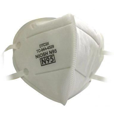 52 € з купоном на 20шт Одноразова захисна маска для обличчя від респіратора N95 від TOMTOP