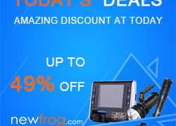 Today's Deals up to 49% off + free shipping@Newfrog.com from Newfrog.com