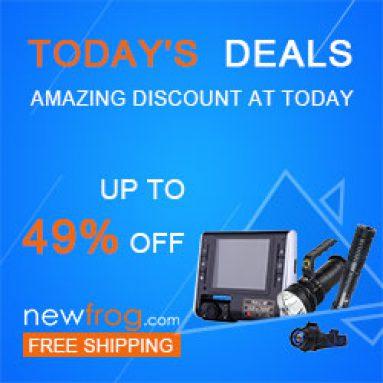 Οι σημερινές προσφορές έως και 49% έκπτωση + δωρεάν shipping@Newfrog.com από το Newfrog.com