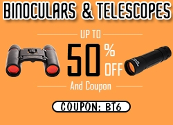 Binoculars & Telescopes up to 50% off + free shipping@Newfrog.com from Newfrog.com