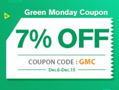 Green Monday Coupon-7% OFF Sitewide from FASTBUY INC