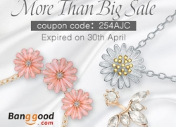 25% OFF for Lovely Jewelry Products from BANGGOOD TECHNOLOGY CO., LIMITED