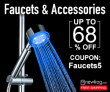 Faucets & Accessories, Up To 68% Off from Newfrog.com