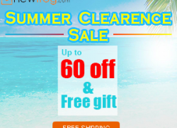 Summer Clearance Sale – Up to 50% off@Newfrog.com from Newfrog.com