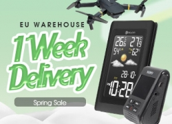 10% OFF Coupon for All Products in EU Warehouse from BANGGOOD TECHNOLOGY CO., LIMITED
