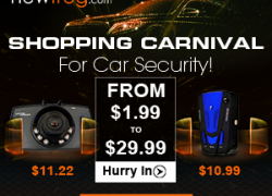 Shopping Carnival For Car Security-From US$1.99 to US$29.99 from Newfrog.com