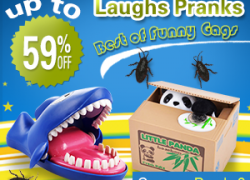 Laughs Pranks, Best of Funny Gags: Up To 59% Off from Newfrog.com