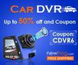 سيارة DVR - ما يصل إلى 50 ٪ قبالة والكوبون: CDVR6@Newfrog.com من Newfrog.com