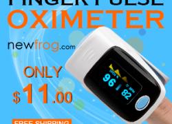 Finger Pulse Oximeter-Only $11.00 from Newfrog.com