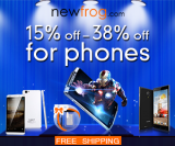 15% Off – 38% Off For Phones from Newfrog.com