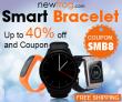 Έξυπνο βραχιόλι-Έως 40% off και κουπόνι: SMB8 από το Newfrog.com