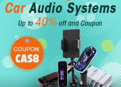 Car Audio Systems-Up to 40% off and Coupon: CAS8 from Newfrog.com