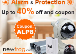 Alarm & Protection-Up to 40% off and Coupon: ALP8 from Newfrog.com