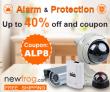 Alarma & Proteksyon-Hanggang sa 40% off at Kupon: ALP8 mula sa Newfrog.com