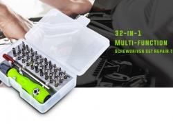 $ 3 dengan kupon untuk 32-in-1 Multi-fungsi Obeng Set Alat Perbaikan dari GEARBEST