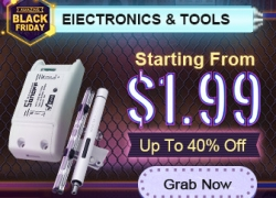 Black Friday Sale-Starting From $1.99 for Electronics & Tools from BANGGOOD TECHNOLOGY CO., LIMITED