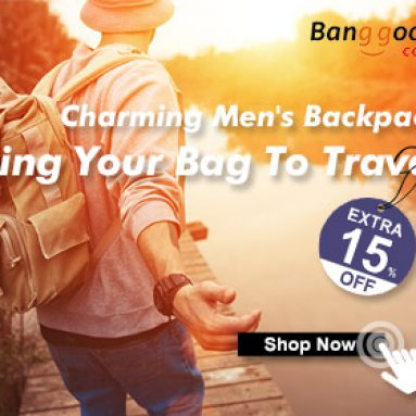 BANGGOOD TECHNOLOGY CO., LIMITED의 봄 여행용 남성용 백팩의 15 % OFF