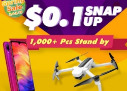 Spring Sale Blowout $0.1 Snap Up for Hot Items from BANGGOOD TECHNOLOGY CO., LIMITED