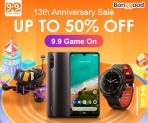 Grab 10% OFF Sitewide Coupon for Banggood 13th Anniversary from BANGGOOD TECHNOLOGY CO., LIMITED